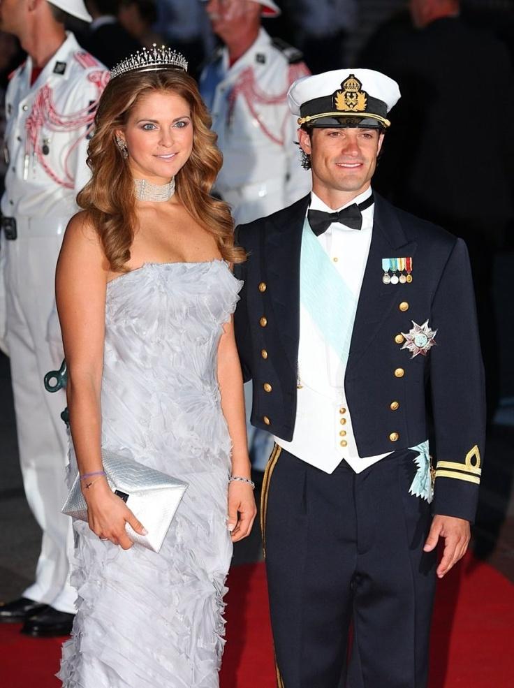 Principe Carlo Filippo e Maddalena di Svezia