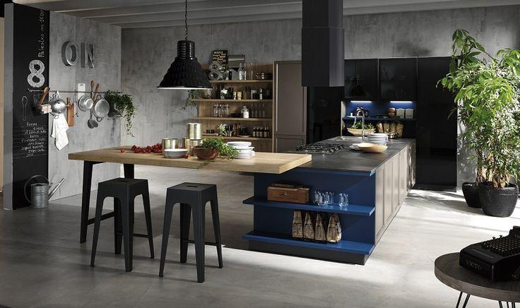 25 migliori idee su cucine industriali su pinterest casa for Cucine industriali
