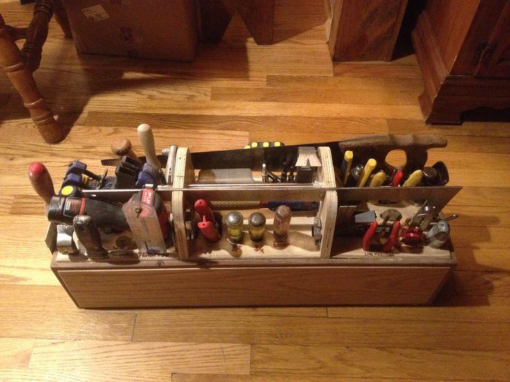 garage wall bench ideas - Carpenters tool box