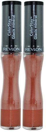 Revlon Colorstay Mineral Lipglaze 510 Forever Fig (PACK OF 2 Tubes). Revlon Lip Glaze.