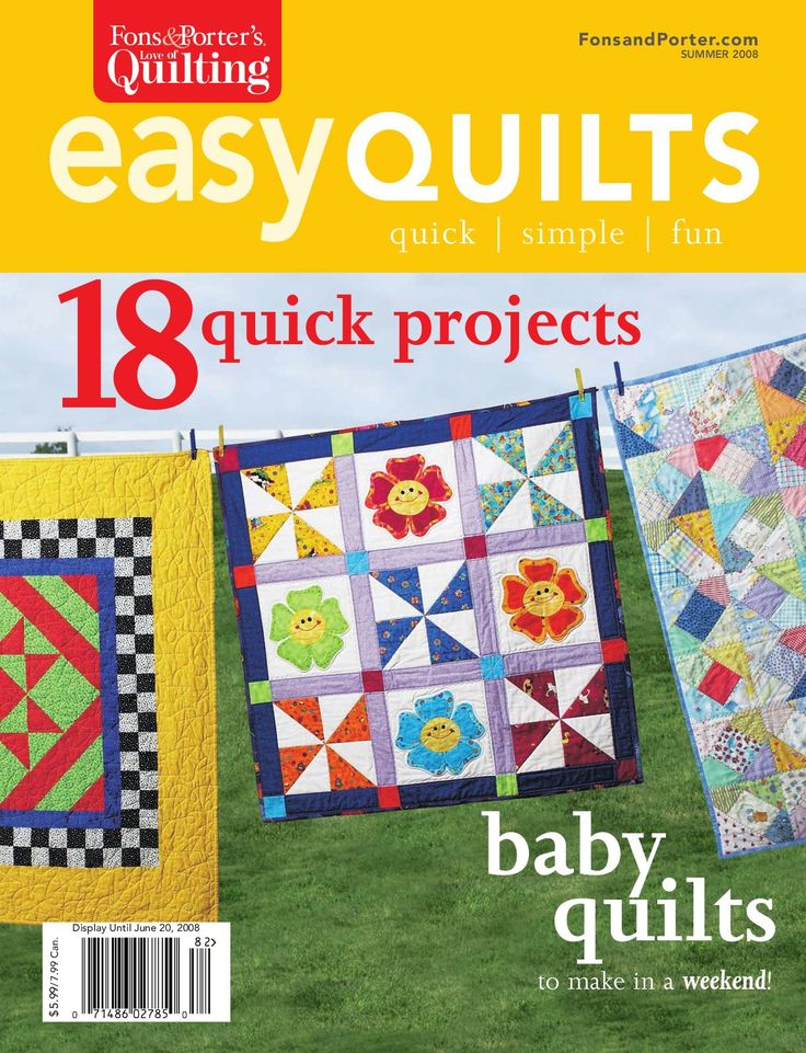 Fons & Porter's Easy Quilts, Summer 2008 Issue by New Track Media