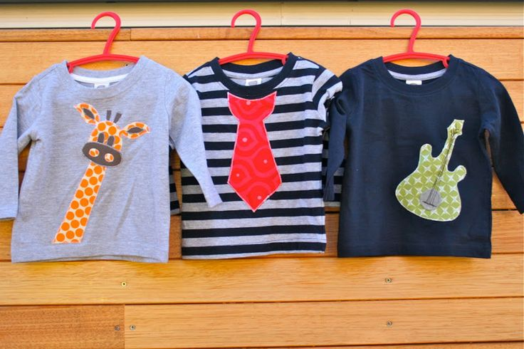 make it perfect: .Tops for Tommy. Idées customisation pour petits garçons