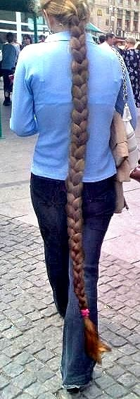 I can't wait until my hair is this long