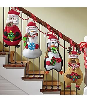 Personalized-Christmas Pouch Pals Stocking *New*– Christmas Pouch Pals Stocking Imagine how thrilled your little ones will be to see their festive friends filled with Christmas treats just for them! http://kittykatkoutique.com/new-personalized-christmas-stockings-2015/