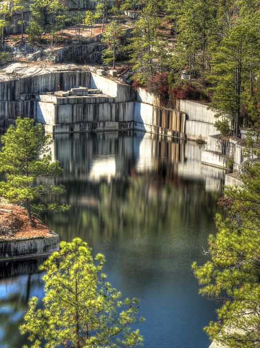 Anderson Quarry, Fairfield County, South Carolina; photo ...