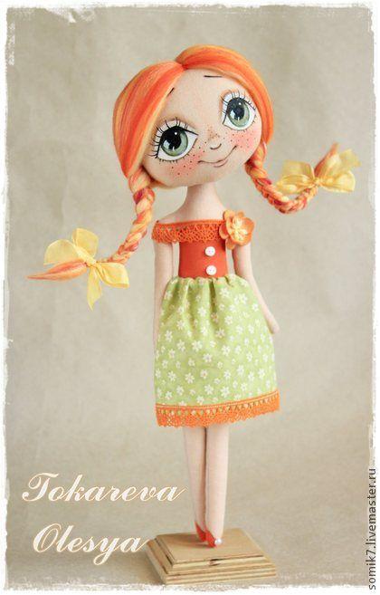 Коллекционные куклы ручной работы. Ярмарка Мастеров - ручная работа Южный закат. Handmade.