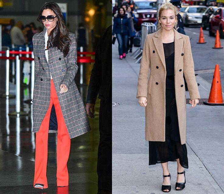 Осенние образы знаменитостей - Fresh - Свежий взгляд на стиль Виктория Бэкхем и Сиенна Миллер