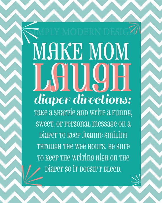 Baby Shower Activity: Make A Pile Of Diapers On The Table, And Some  Permanant Markers. Have All The Guest Put Cute Comments, Funny Sayings Or  Words Of ...