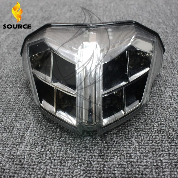 64.17$  Buy here - http://alic08.shopchina.info/go.php?t=32453236549 - hot selling Motorcycle accessories silver Integrated LED Tail Light fit For Ducati Streetfighter 1100      2012 2013 2014 64.17$ #magazineonline