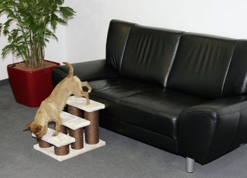 Hundetreppe-Hunderampe-Katzentreppe-Treppe-Hunde-Katzen-Kratzbaum-Steighilfe