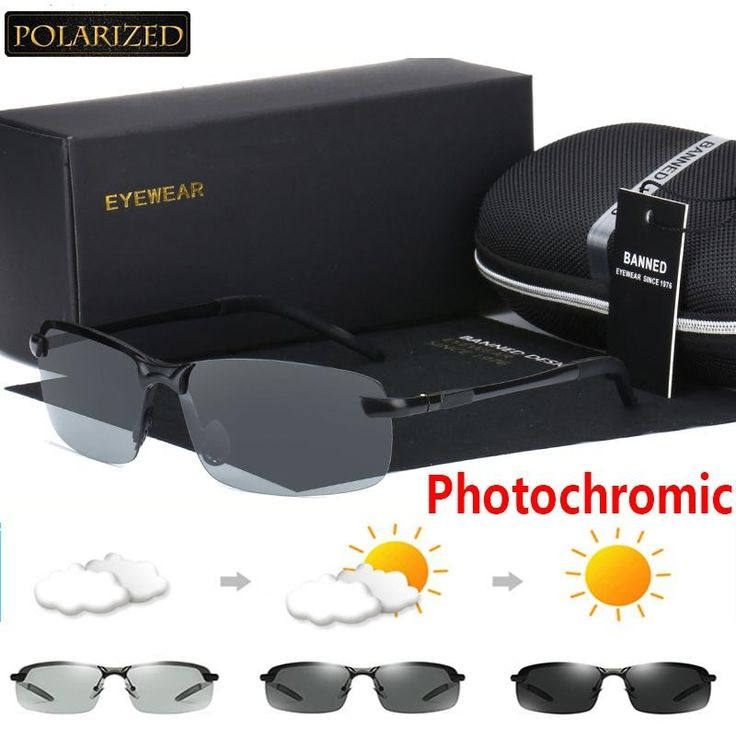 Photochromic Polarized UV400 Classic Outdoor Sunglasses
