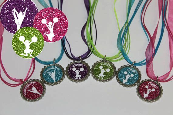 Cheerleading Team Gift  Cheerleading Necklaces by NanasPartyPalace, $12.00