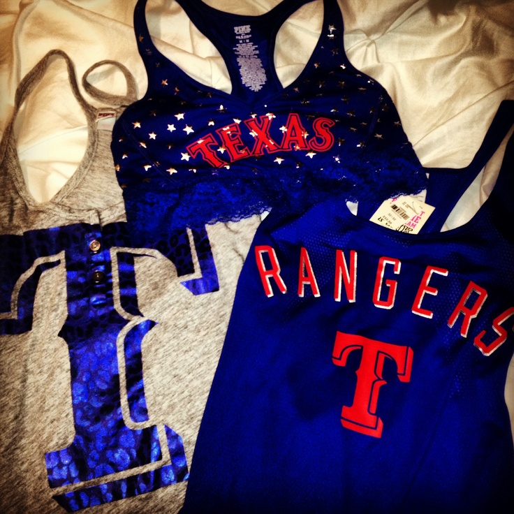 Texas Rangers PINK <3
