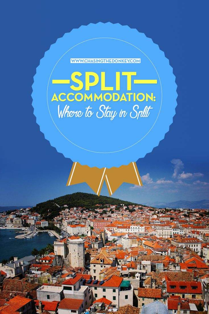 Croatia Travel Blog: When it comes to finding the perfect accommodation in Split, we've got you covered. From 5 Star Luxury and Boutique Hotels all the way to Hostels, use this guide to find the perfect place to rest your head. Click to find out more!