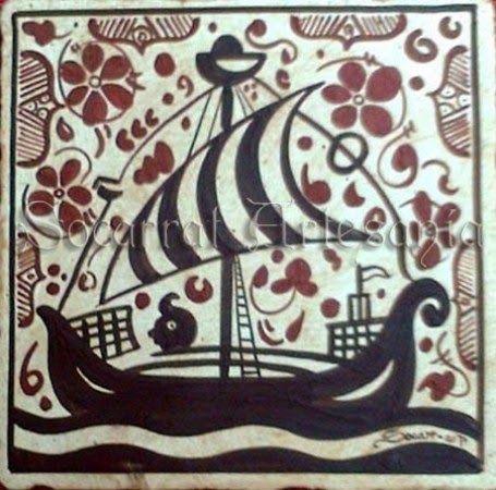 socarrat barco con marinero