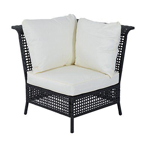 Rattan Garden Furniture L Shape best 20+ black rattan garden furniture ideas on pinterest   black