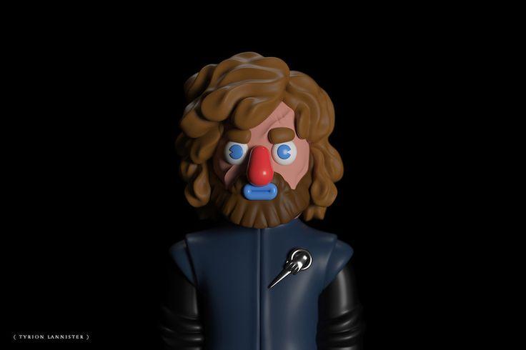 """""""Game of Thrones"""" – Pop Art Toys von Designer El Grand Chamaco"""