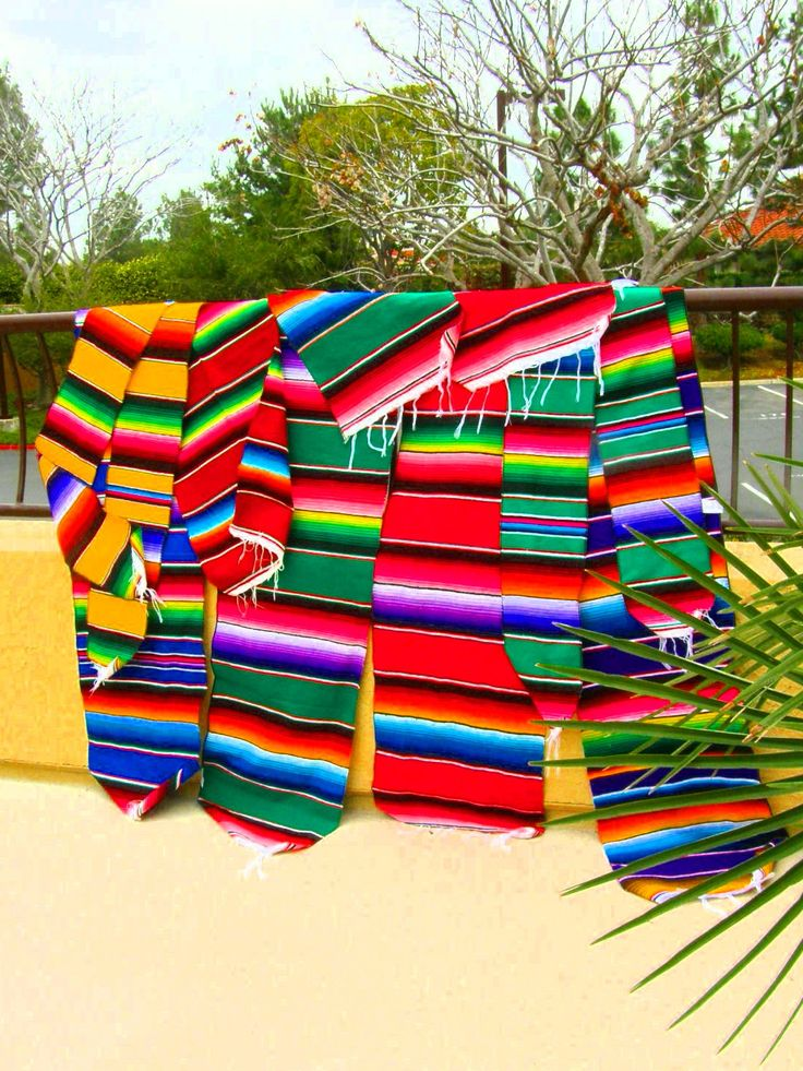 @Jody Rieck Karavanic--Table runners!!!    MEXICAN BLANKET CLOTH -- Four sizes, four prices, many colors - Ideal for craft and decorating projects