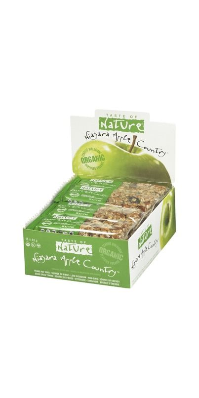 Buy Taste of Nature Organic Food Bar Case of 16 from Canada at Well.ca - Free Shipping https://well.ca/products/taste-of-nature-organic-food-bars_11206.html