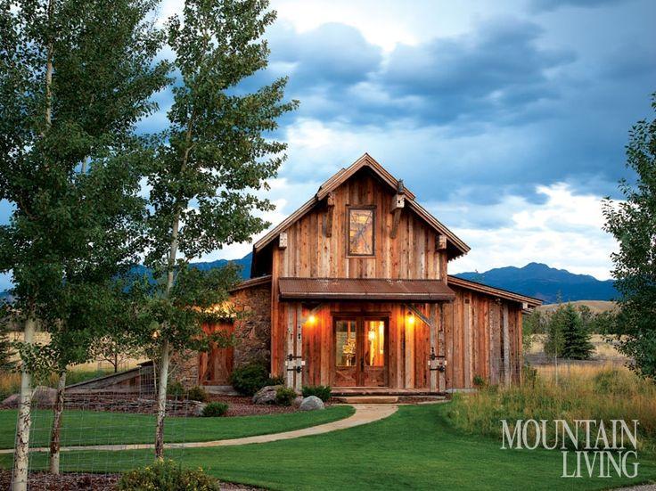 Rustic Retreat - Mountain Living - July 2014