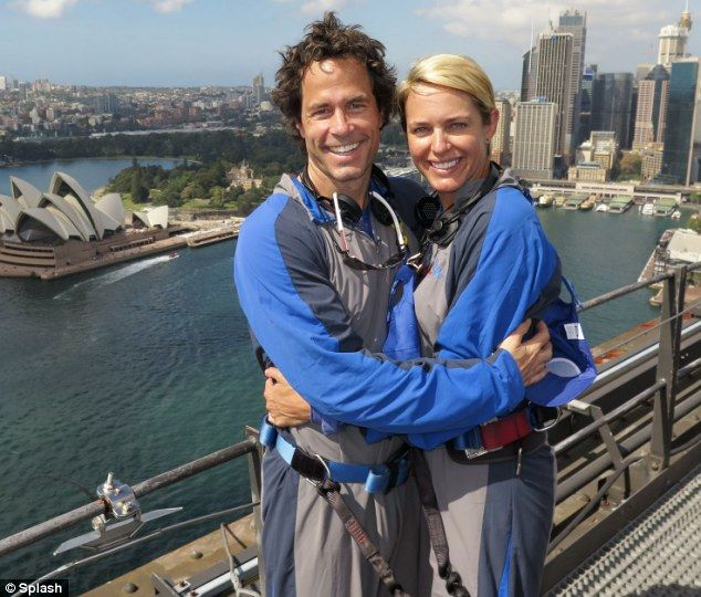 Days Of Our Lives co-stars Shawn Christian and Arianne Zucker cosy up to one another...ato...