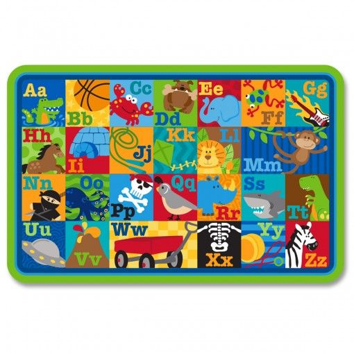 ABC Boy Placemat Possum Pie Stephen Joseph Arts and Crafts, Gifts and Toys, Bags and Backpacks