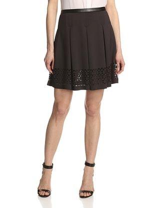 55% OFF Catherine Catherine Malandrino Women's Mariane Skirt in Scuba (Black)