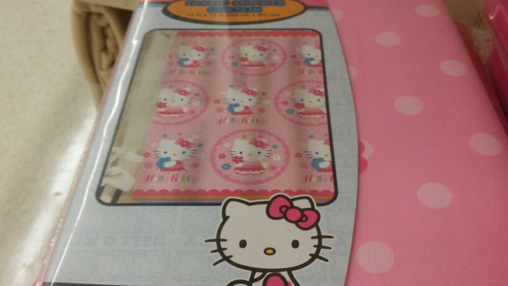Shower Curtain That Is Hello Kitty