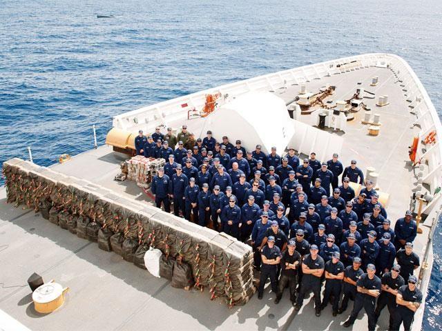 Slideshow : US Coast Guard seizes $181 million of cocaine in Pacific - US Coast Guard seizes $181 million of cocaine in Pacific - The Economic Times