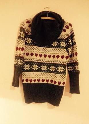 Kupuj mé předměty na #vinted http://www.vinted.cz/damske-obleceni/pletene-svetry/9760328-zimni-svetr-se-vzory