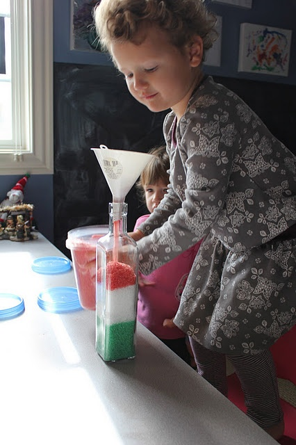 Homemade bath salts - kids can help, would make good Christmas gifts!
