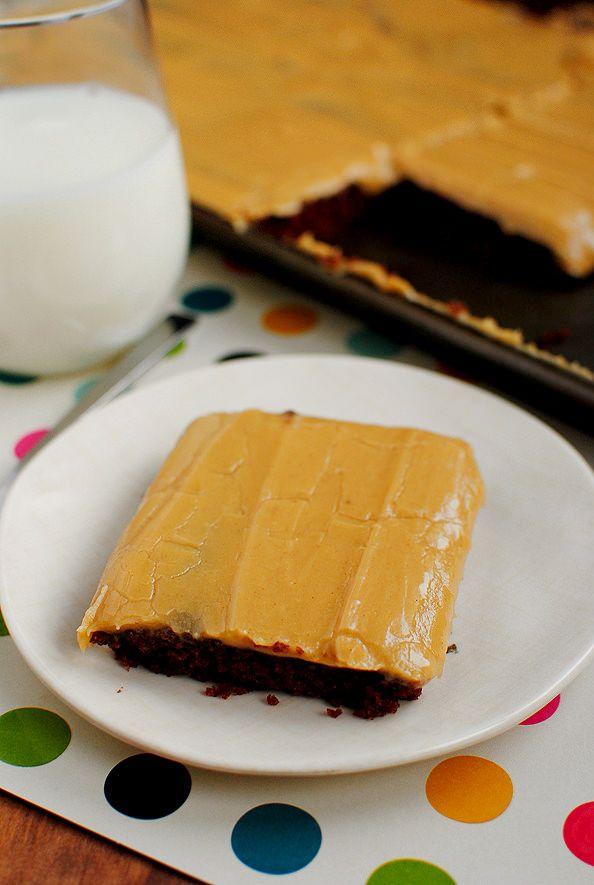X Chocolate Sheet Cake