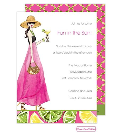 30 best informal party invitations images on pinterest party bonnie marcus informal parties margarita anyone invitation bm the printswell stopboris Choice Image