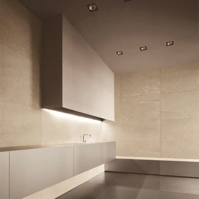 Maya Kitchen by Italian brand Minotti, minimalist with soft neutral tones  _