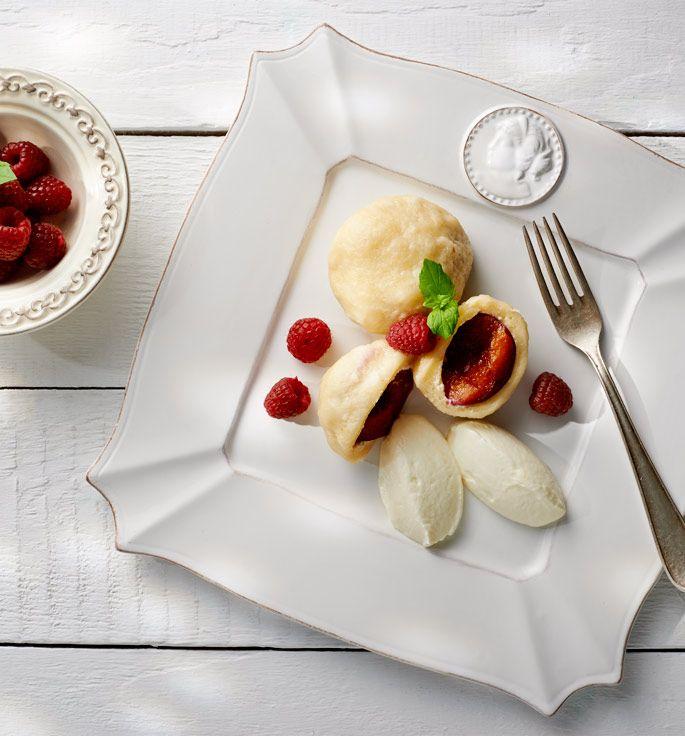 Knedle ze śliwkami. Kuchnia Lidla - Lidl Polska. #lidl #Paweł #knedle