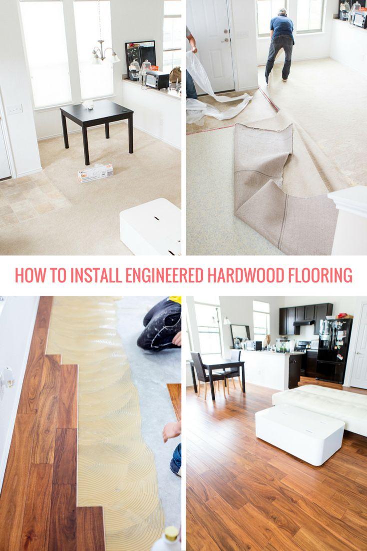Best 25 engineered hardwood flooring ideas on pinterest for Best engineered wood flooring