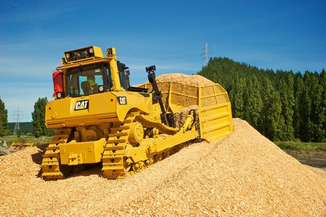 Cat D8T Track-type Tractor - Pan Pac Forest Products, Hawkes Bay