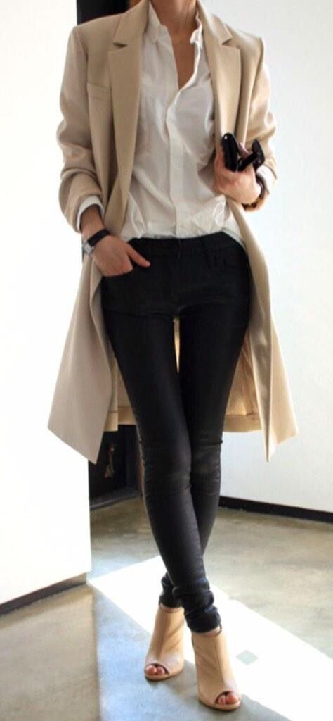 Casual chic for fall and winter.