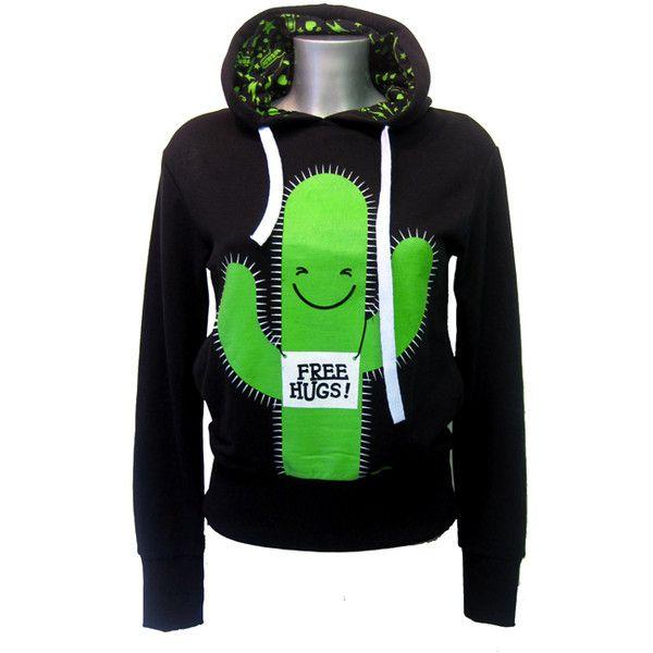 Newbreed Girl Free Hugs Hood | Gothic Clothing | Emo clothing |... ($64) I WANT THIS SO BAD