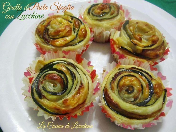 Girelle+di+Pasta+sfoglia+con+Zucchine