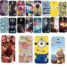 PC Caja Del Teléfono Con La Flor de la moda Impresos Historieta de la Cubierta de Plástico Para Huawei Ascend Y625 Patrones Cáscara Del Teléfono de Nuevo(China (Mainland))