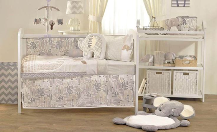 https://flic.kr/p/PZAYn8   Naturi 6 Piece Nursery Set by Lolli Living   The Naturi 6-piece cot set by Lolli Living features charming elephants and eclectic prints that coordinate perfectly with mix and match bedding. Set includes: Quilt, fitted sheet, pillowcase, flat sheet, pram blanket & cushion. www.beddingsquare.com.au/naturi-6-piece-nursery-set-lolli...