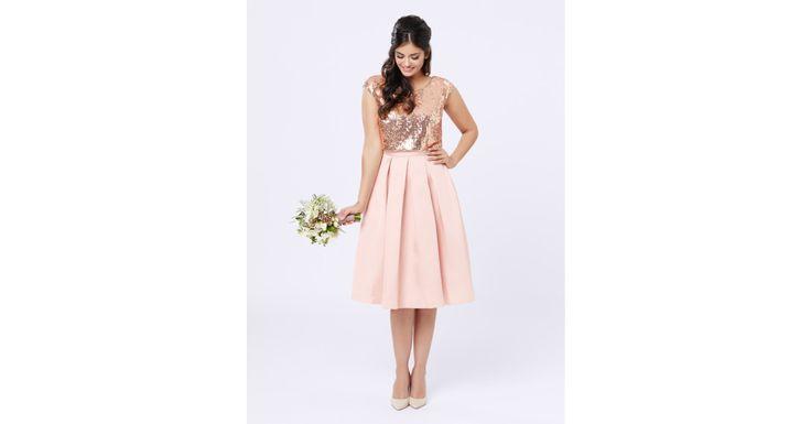 Review Australia - Save The Date Dress Blush/bronze