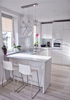 Светильники на кухне в стиле хай тек
