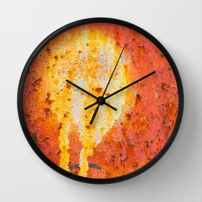 Medusa Wall Clock by Silvia Ganora - $30.00