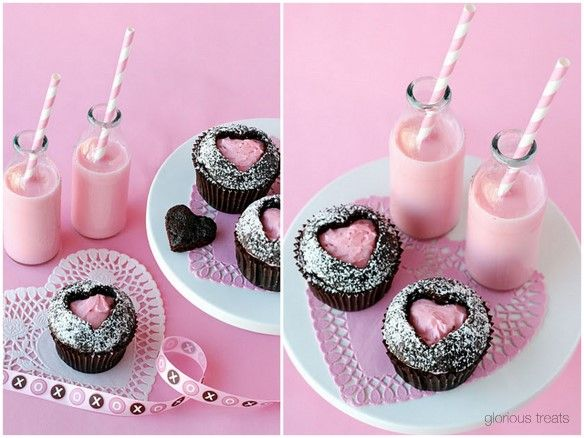 Sweetheart Cupcakes... perfect for Valentine's Day!
