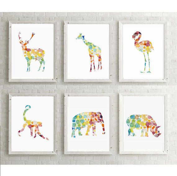 Kinderkamer illustraties  giclee prints  door Lemonillustrations