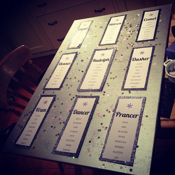 Table Names Wedding 40 best table plans for christmas weddings images on pinterest