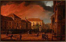 """Obraz Marcina Zaleskiego """"Wzięcie Arsenału""""(1831) #PMA #Muzuem #Arsenał #Archeologia #Powstanie #Listopadowe #November #Uprising"""