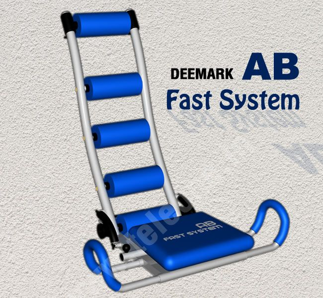 Deemark AB Fast System - Everyone wants washboard abs, losing body fat is key but working on your abs and back muscles to make them strong is important too. The Deemark AB Fast System works plain and simple. It will flatten your entire core so that you can have killer abs. It will work out on your core, oblique as well as your lower, middle and upper abs.